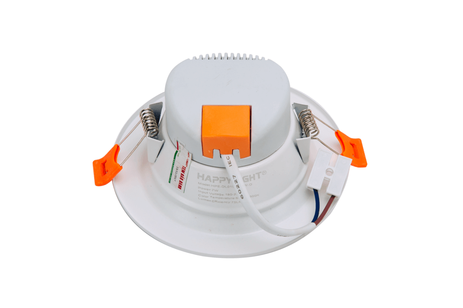 Đèn led Downlight 3 màu Happylight HPE-DL03L90/7W 005