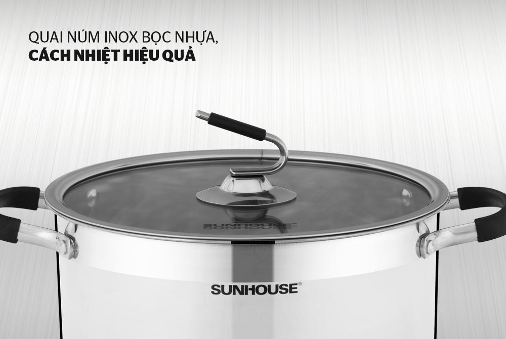 Nồi inox 3 đáy SUNHOUSE SHG24326 004