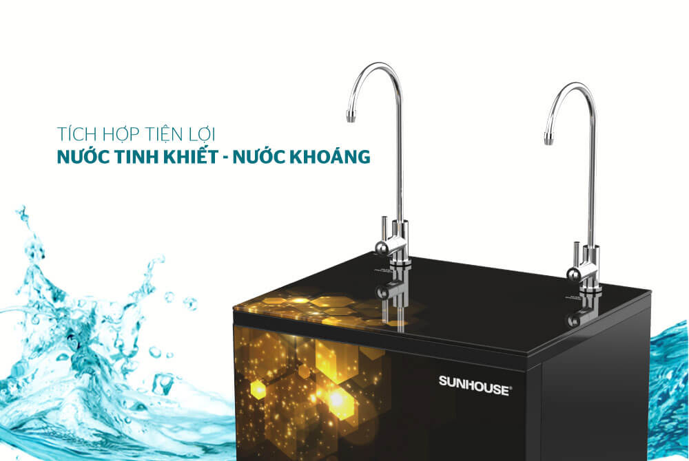 Máy lọc nước R.O 10 lõi SUNHOUSE SHA88119K 4
