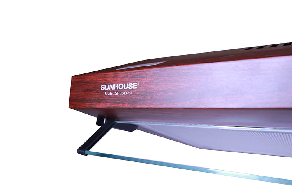 Máy hút mùi vỏ sơn vân gỗ SUNHOUSE SHB6118W 005