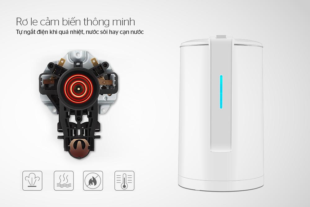 Chọn mua ấm siêu tốc loại nào tốt, an toàn, tiết kiệm điện? 10
