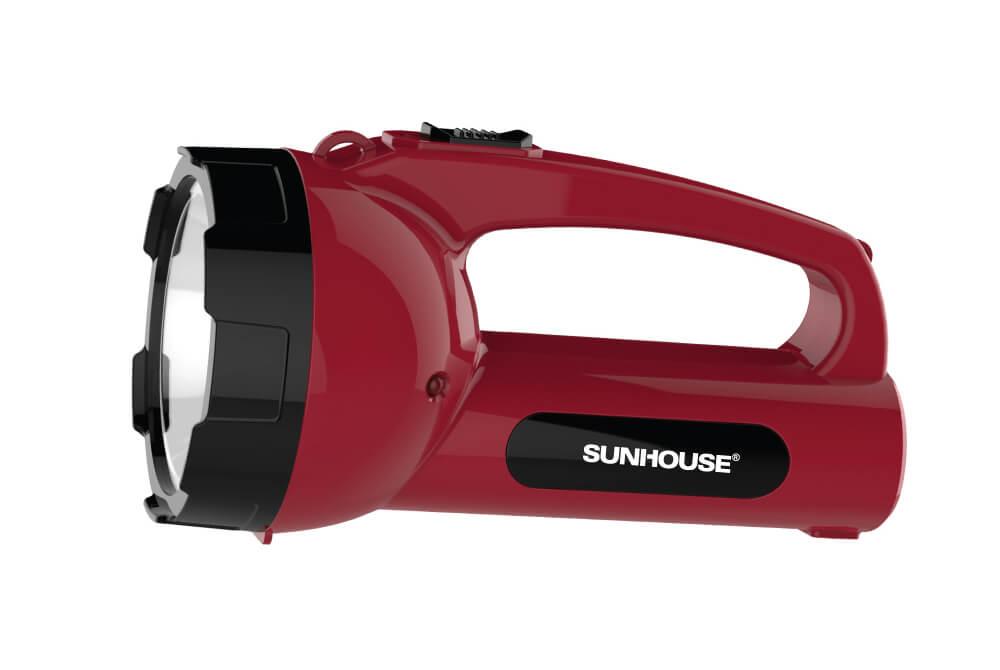 Đèn pin xách tay SUNHOUSE SHE-8295 cỡ trung 001