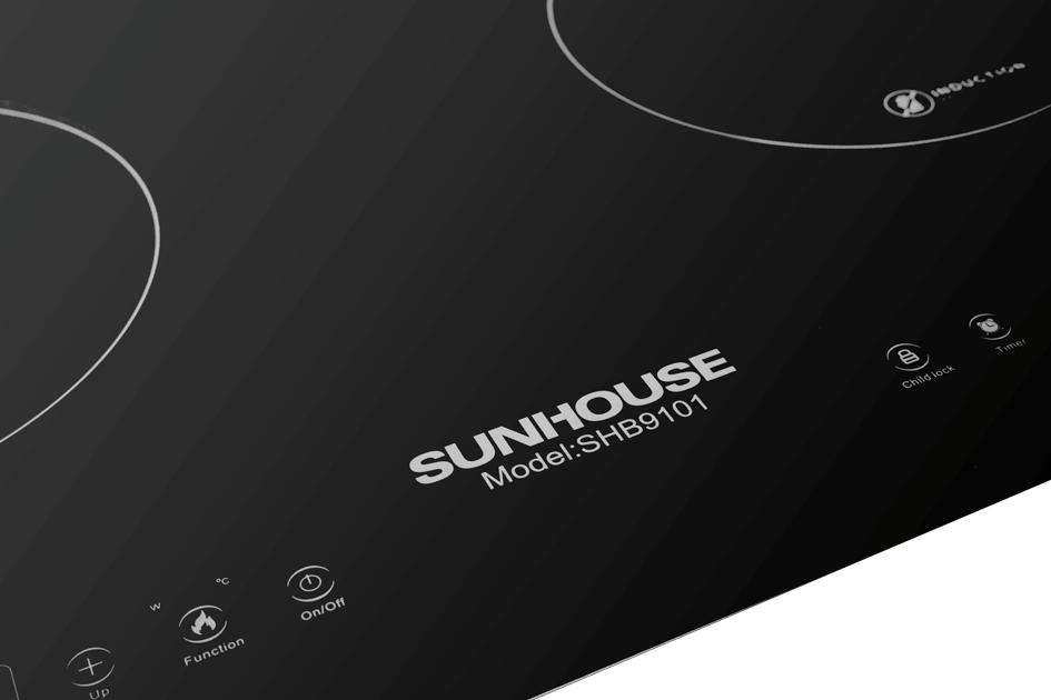 Bếp đôi điện từ SUNHOUSE SHB9101 004