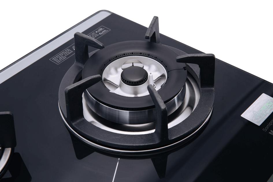 Bếp gas SUNHOUSE âm kính SOMIPress cao cấp Apex 3 lò APB8802 004