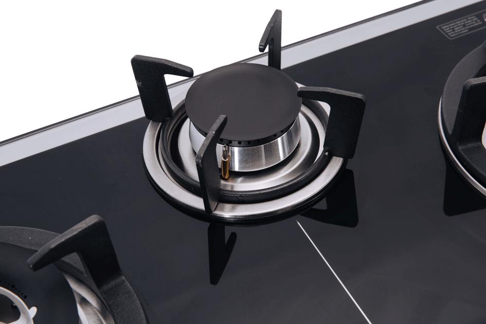Bếp gas SUNHOUSE âm kính SOMIPress cao cấp Apex 3 lò APB8802 003