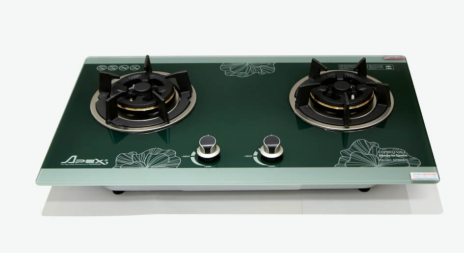 Bếp gas âm kính APEX APB8815 001