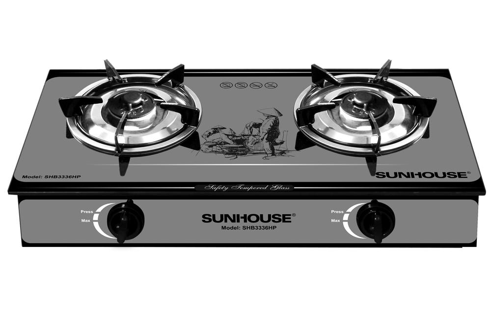 Bếp gas dương kính SUNHOUSE SHB3336HP