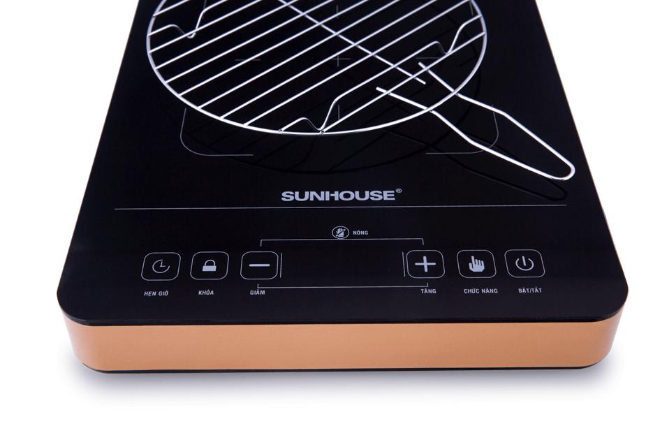 Bếp hồng ngoại cảm ứng SUNHOUSE SHD6015 003