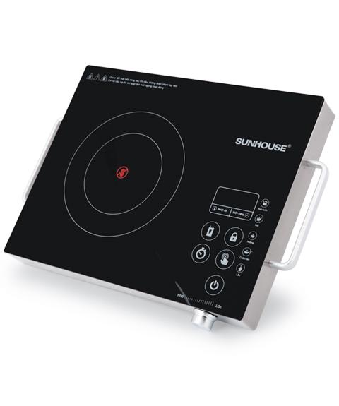 Bếp hồng ngoại cảm ứng SUNHOUSE SHD6017 001