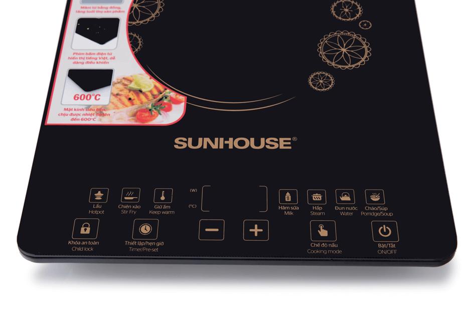 Bếp điện từ cảm ứng SUNHOUSE SHD6870 005