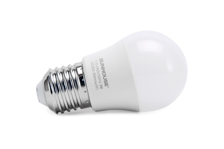 Bộ đèn LED thân nhôm SHE-LEDA45AL-A3W (trắng) 002