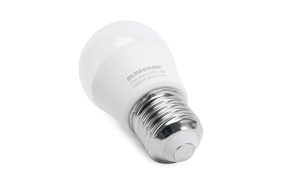 Bộ đèn LED thân nhôm SHE-LEDA45AL-A3W (trắng) 003
