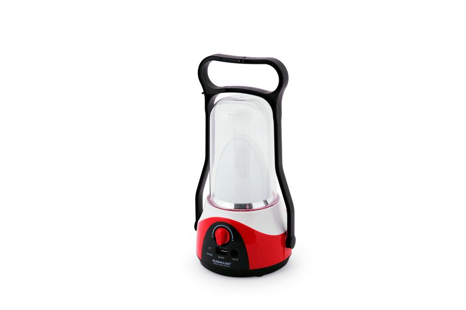 Đèn tích điện đa năng 360LED SUNHOUSE SHE-6036LA đỏ 002