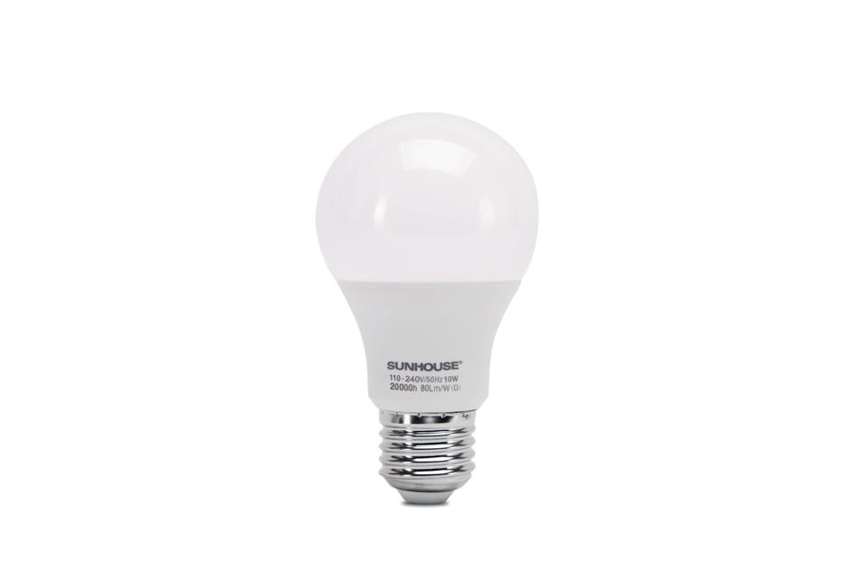 Bộ đèn LED thân nhôm SHE-LEDA60AL-A10W (trắng) 001