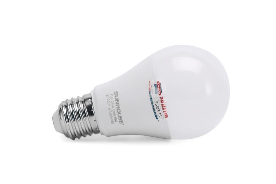 Bộ đèn LED thân nhôm SHE-LEDA60AL-A10W (trắng) 003