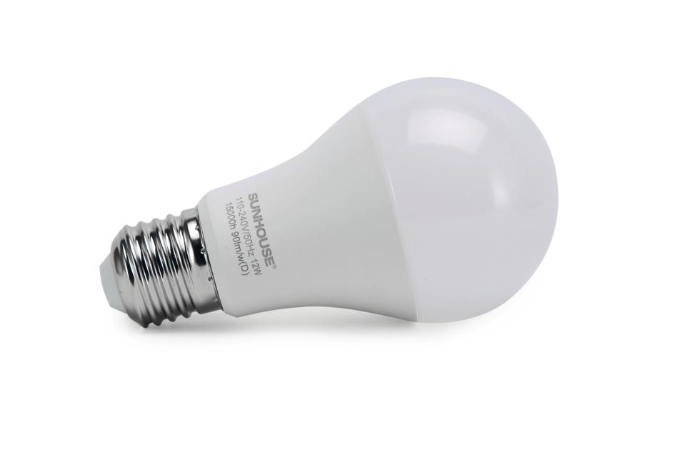 Bộ đèn LED thân nhôm SHE-LEDA60AL-A12W (trắng) 002