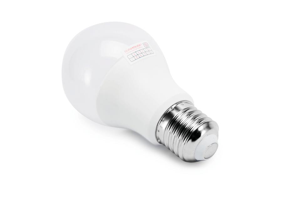 Bộ đèn LED thân nhôm SHE-LEDA60AL-A8W (trắng) 002