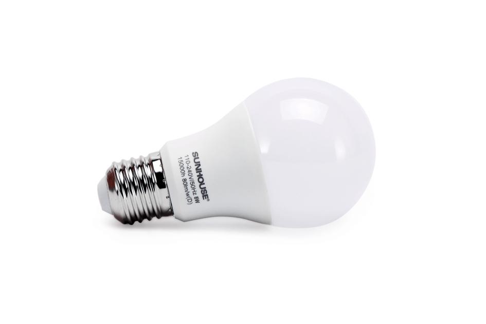 Bộ đèn LED thân nhôm SHE-LEDA60AL-A8W (trắng) 003