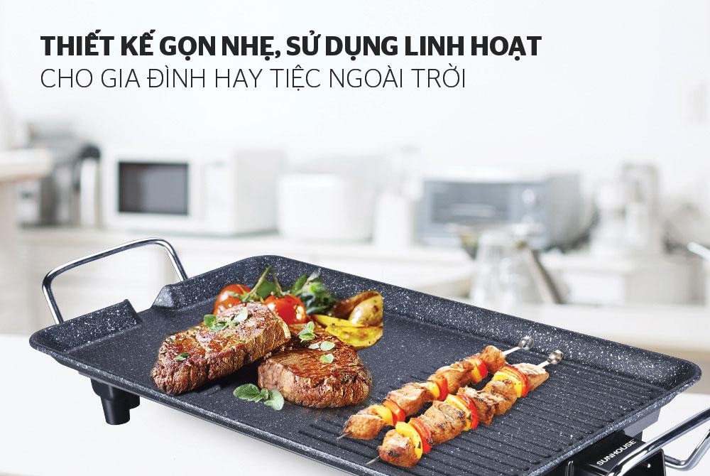Bếp nướng điện SUNHOUSE SHD4607 02