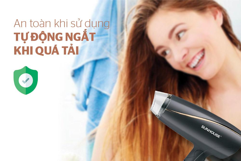 Máy sấy tóc SUNHOUSE SHD2306 06