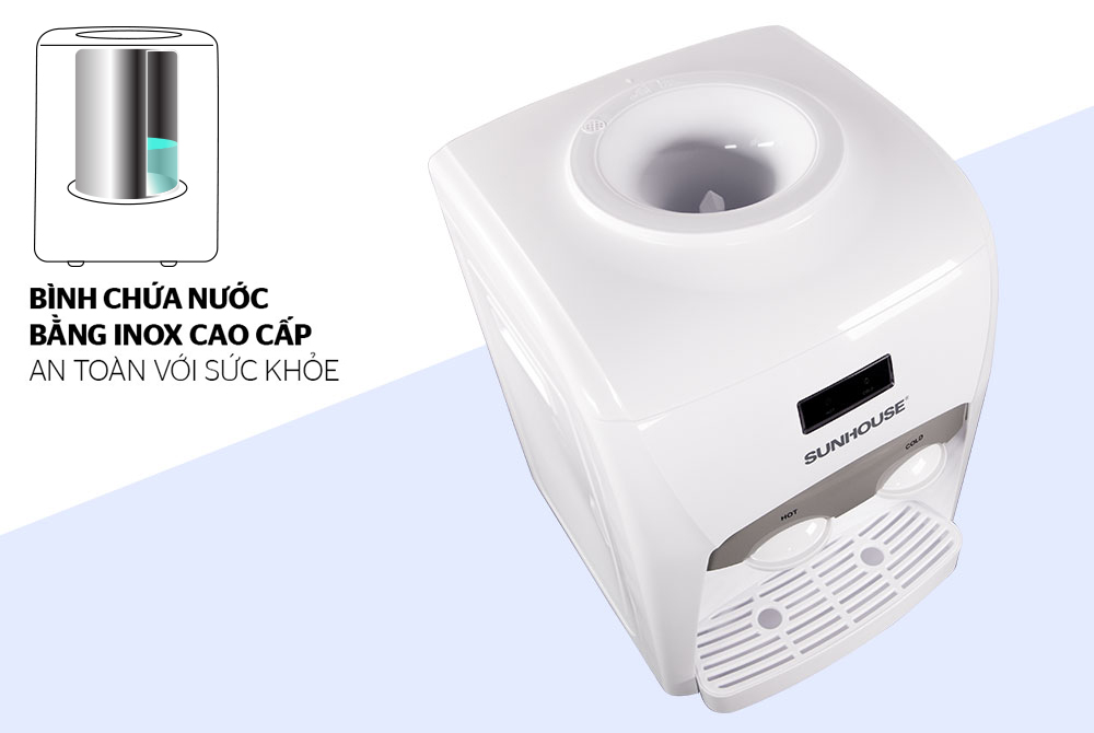Cây nước nóng lạnh SUNHOUSE SHD9601 03