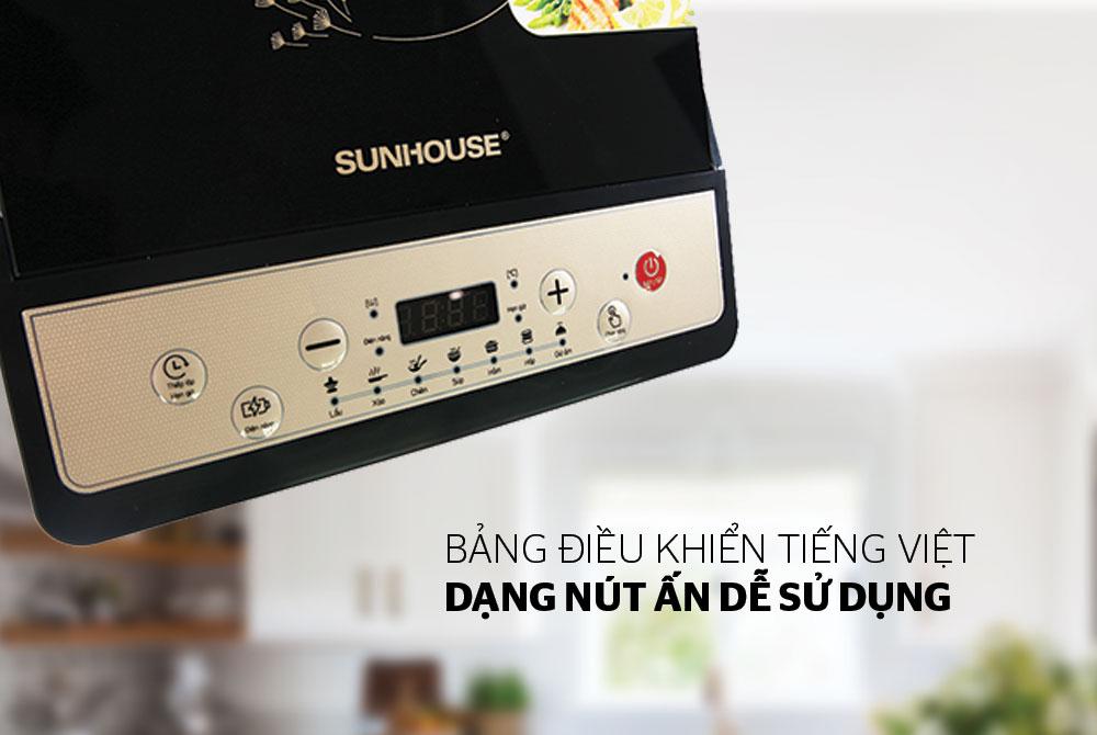 Bếp từ cơ SUNHOUSE SHD6148 03