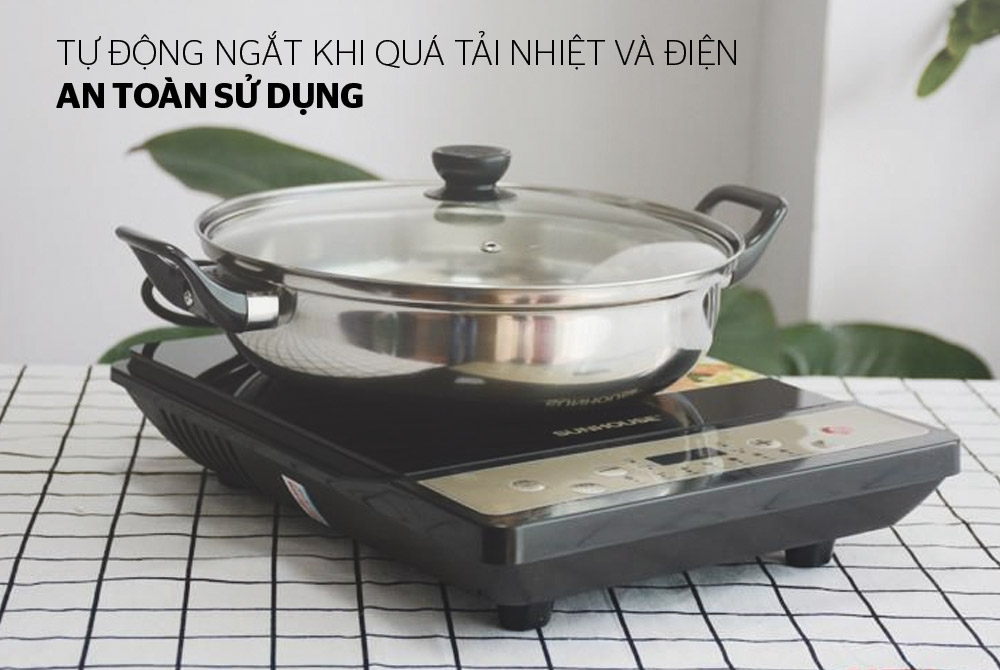 Bếp từ cơ SUNHOUSE SHD6148 05