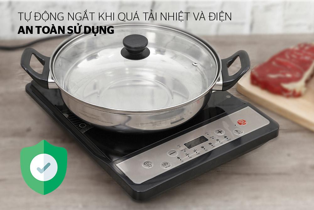 Bếp từ cơ SUNHOUSE SHD6149 05