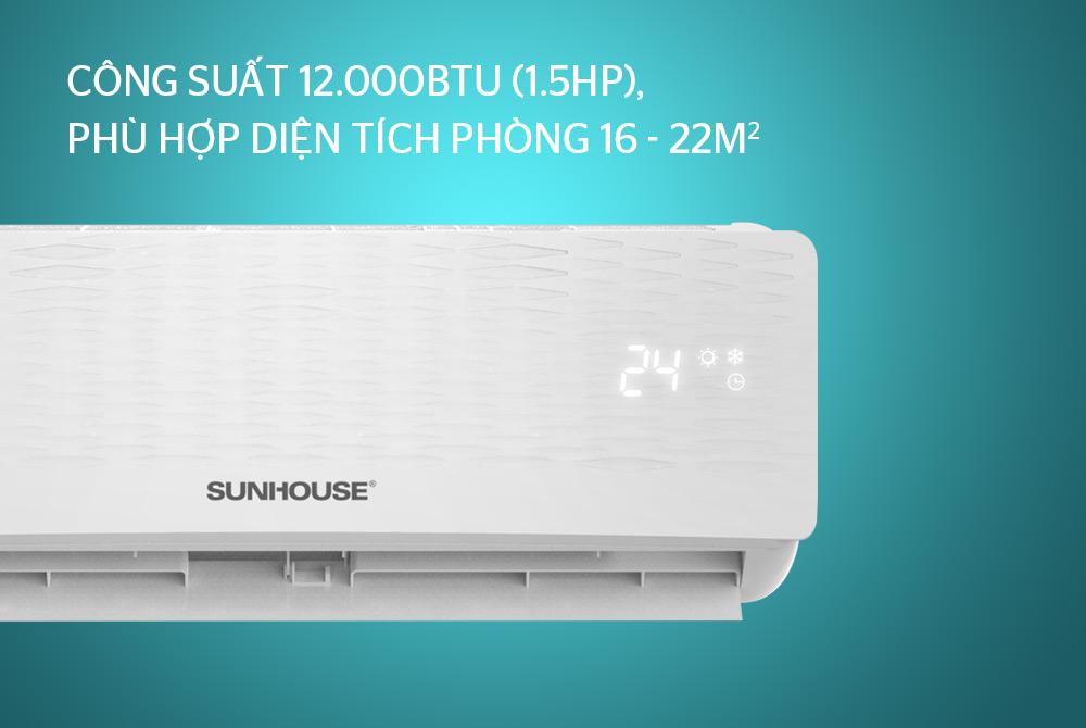 Điều hòa không khí một chiều 12000BTU SUNHOUSE SHR-AW12C110 10