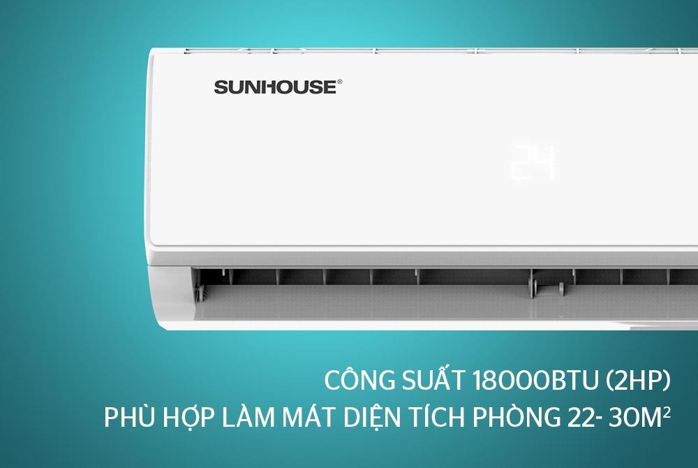 Điều hòa không khí một chiều INVERTER 18000BTU SUNHOUSE SHR-AW18IC610
