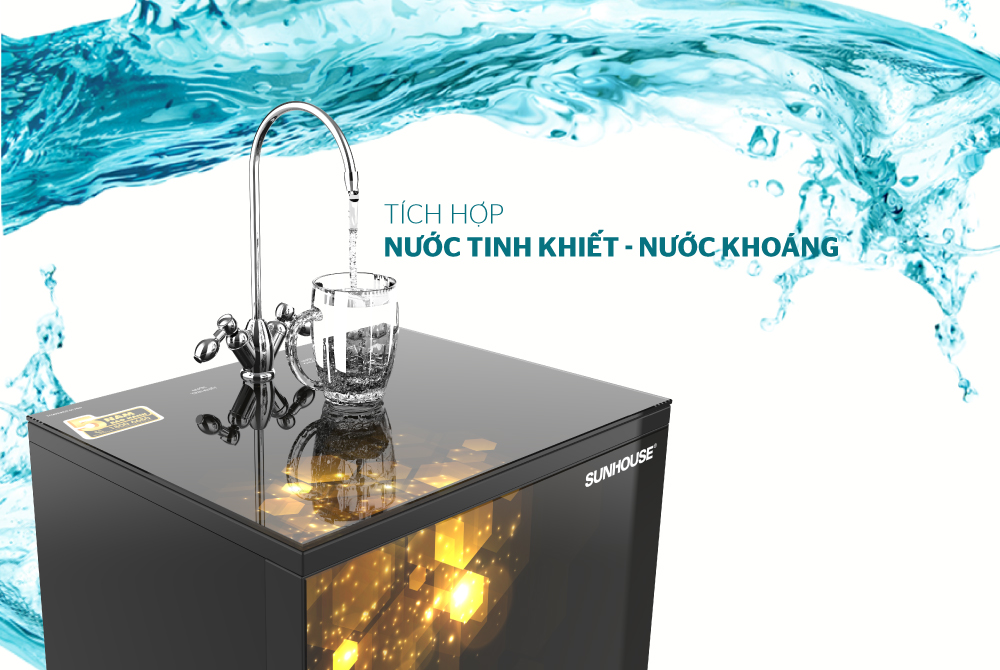 Máy lọc nước R.O 10 lõi SUNHOUSE SHA88118K 4