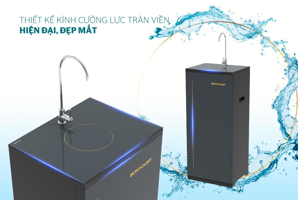 Máy lọc nước R.O 10 lõi SUNHOUSE SHA88116K 1