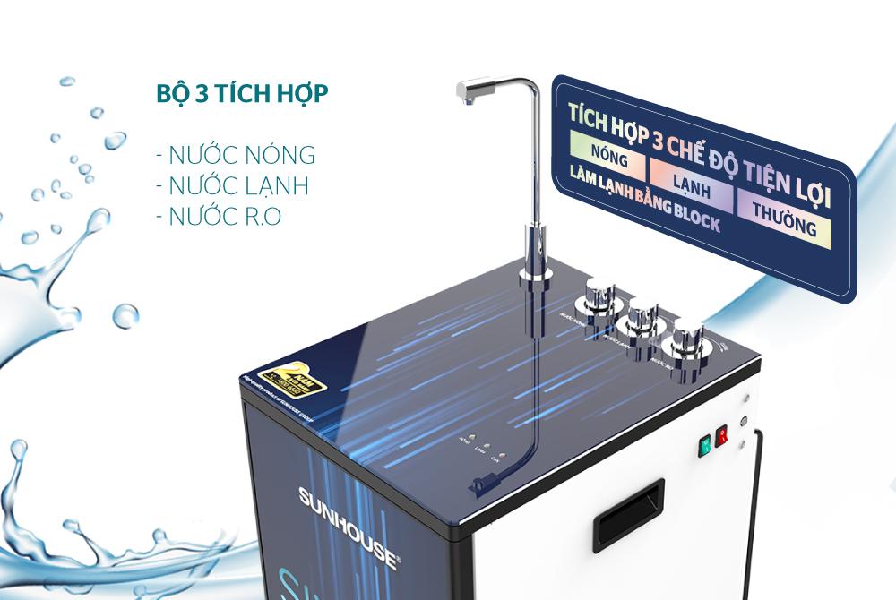 Máy lọc nước R.O 10 lõi SUNHOUSE SHA76213CK 4