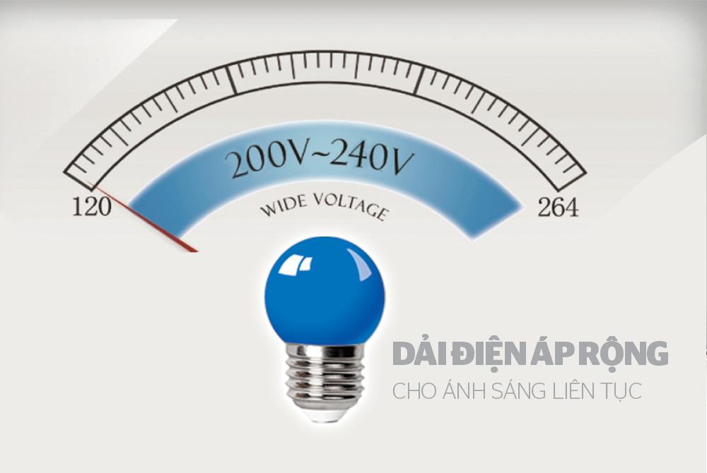ĐÈN LED TRANG TRÍ HAPPYLIGHT HPL-01, MÀU XANH LAM 4