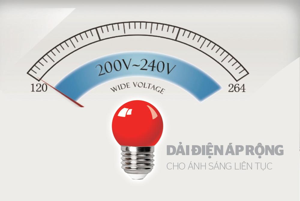 ĐÈN LED TRANG TRÍ HAPPYLIGHT HPL-01, MÀU ĐỎ 4