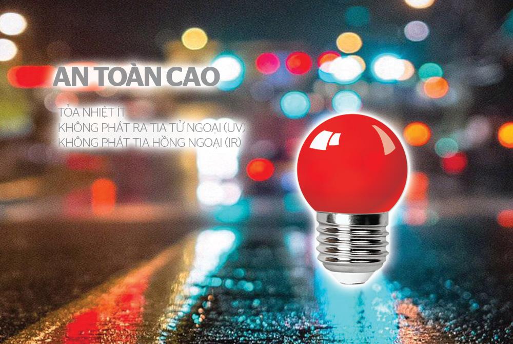 ĐÈN LED TRANG TRÍ HAPPYLIGHT HPL-01, MÀU ĐỎ 6