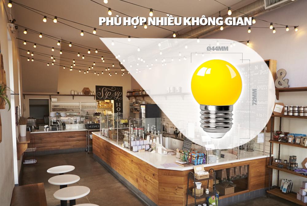 ĐÈN LED TRANG TRÍ HAPPYLIGHT HPL-01, MÀU VÀNG 2