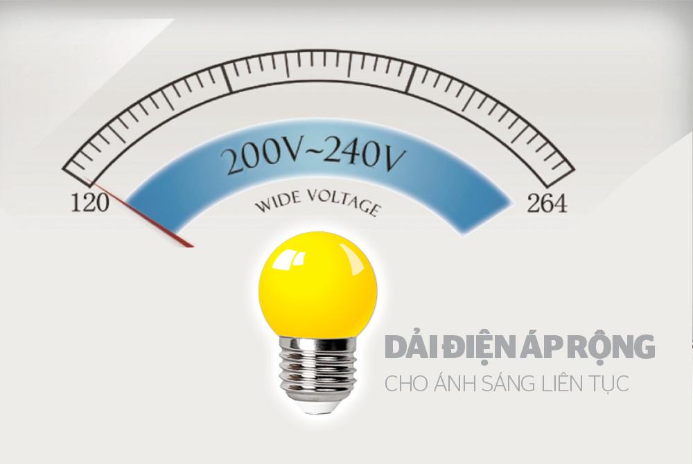 ĐÈN LED TRANG TRÍ HAPPYLIGHT HPL-01, MÀU VÀNG 4