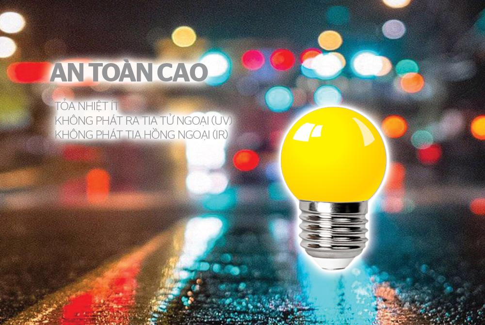 ĐÈN LED TRANG TRÍ HAPPYLIGHT HPL-01, MÀU VÀNG 6