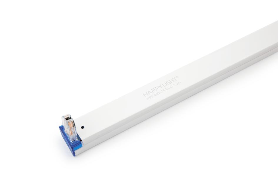 Máng đèn đơn đui liền HAPPY LIGHT HPE-MDLT8.ECO-1.2m 003