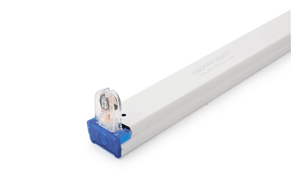 Máng đèn đơn đui liền HAPPY LIGHT HPE-MDLT8.ECO-1.2m 004