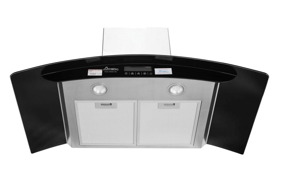 Máy hút mùi kính cong APEX APB6681-90C 003