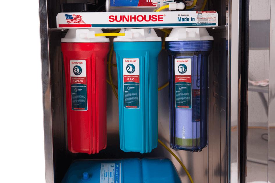 Máy lọc nước gia đình SUNHOUSE SHR88210K