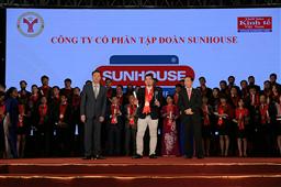 Tập đoàn SUNHOUSE lần thứ hai nhận danh hiệu Thương hiệu mạnh Việt Nam