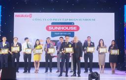 """Tập đoàn SUNHOUSE năm thứ 3 liên tiếp vinh dự nhận giải """"Tin & Dùng Việt Nam"""""""
