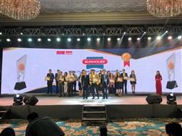 """Tập đoàn SUNHOUSE tiếp tục khẳng định uy tín thương hiệu với giải thưởng """"Tin & Dùng Việt Nam"""" năm 2018"""