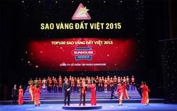 Sao Vàng đất Việt 2015 vinh danh SUNHOUSE